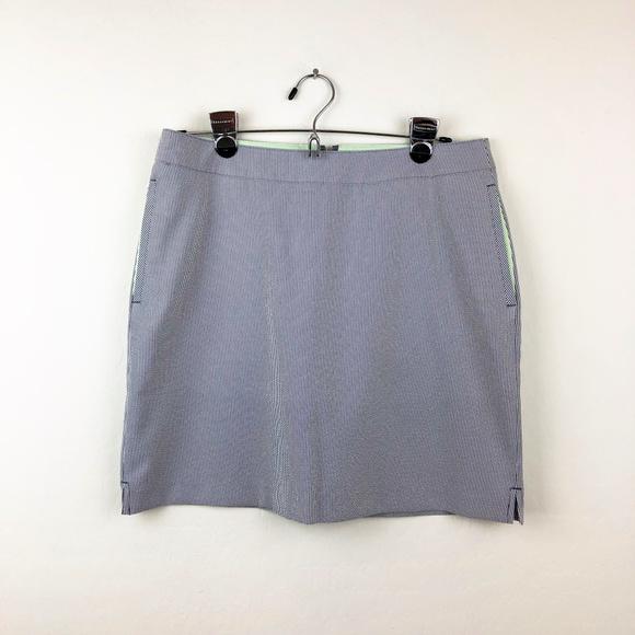 Greg Norman Collection Dresses & Skirts - Greg Norman White and Navy Skirt